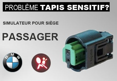 Simulateur tapis sensitif BMW