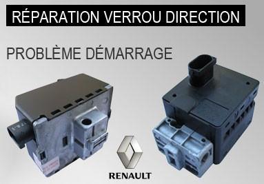 Réparation verrou de colonne direction Renault