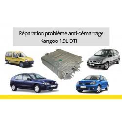 Réparation anti-démarrage Scenic, Megane, Clioet Kangoo 1.9 DTI