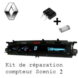kit de reparation compteur scenic 2