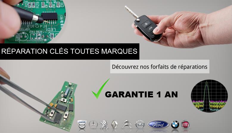Réparation télécommande auto toutes marques